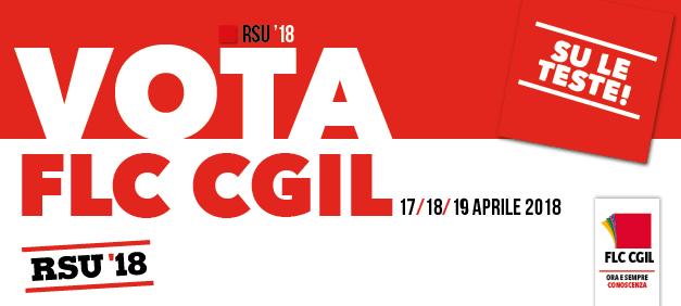 elezioni RSU 2018 Vota FLC-CGIL